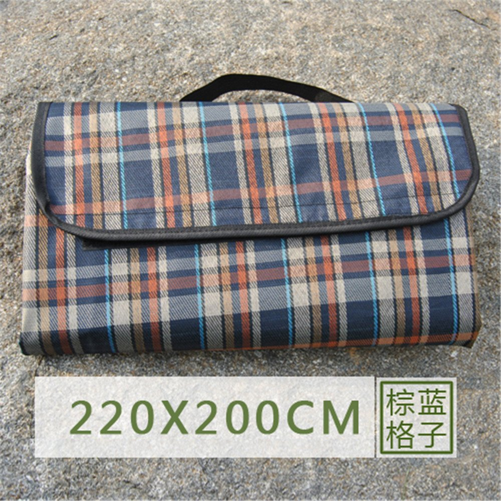 GUJJ Tartan Tartan Tartan Picknick mat Outdoor Zelt mat Bettwäsche mat Wasserdichte tragbare Oxford B071H2YXNT | Gewinnen Sie das Lob der Kunden  fe2d7e