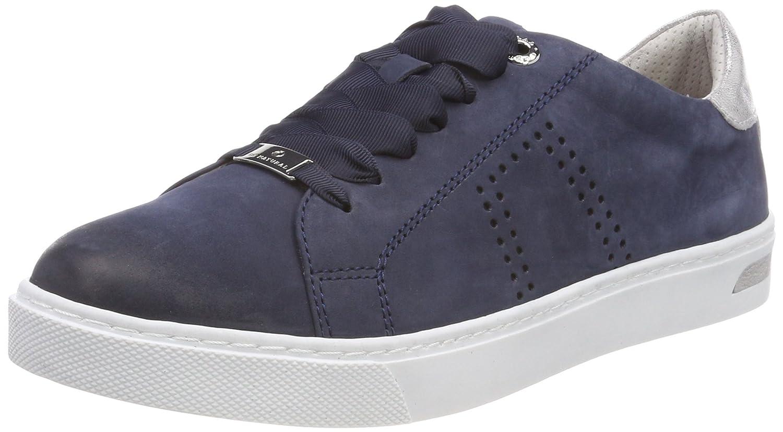 Be Natural Sneaker, Innenausstattung aus vegetabil gegerbtem Leder, blau, 36 36