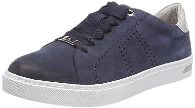 f45ff1f8ed0ddb Be Natural Damen Sneaker Blau by Jana Aus Leder von Größe 37 bis 41 ...