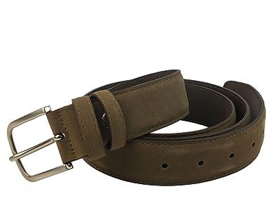 0ce895149401 TIMBERLAND M3595 tourbe homme nubuck ceinture en cuir lisse raccourcie XL   Amazon.fr  Chaussures et Sacs