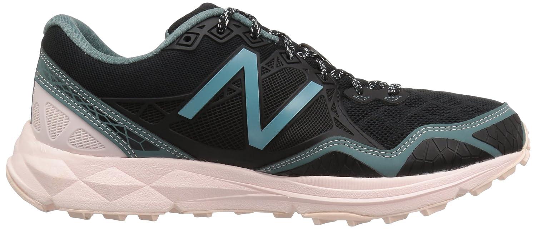 New Balance Women's WT910v3 Trail Running Shoe B01FSIUNXM 6 D US|Black/Bleached Sunrise/Alpha Pink