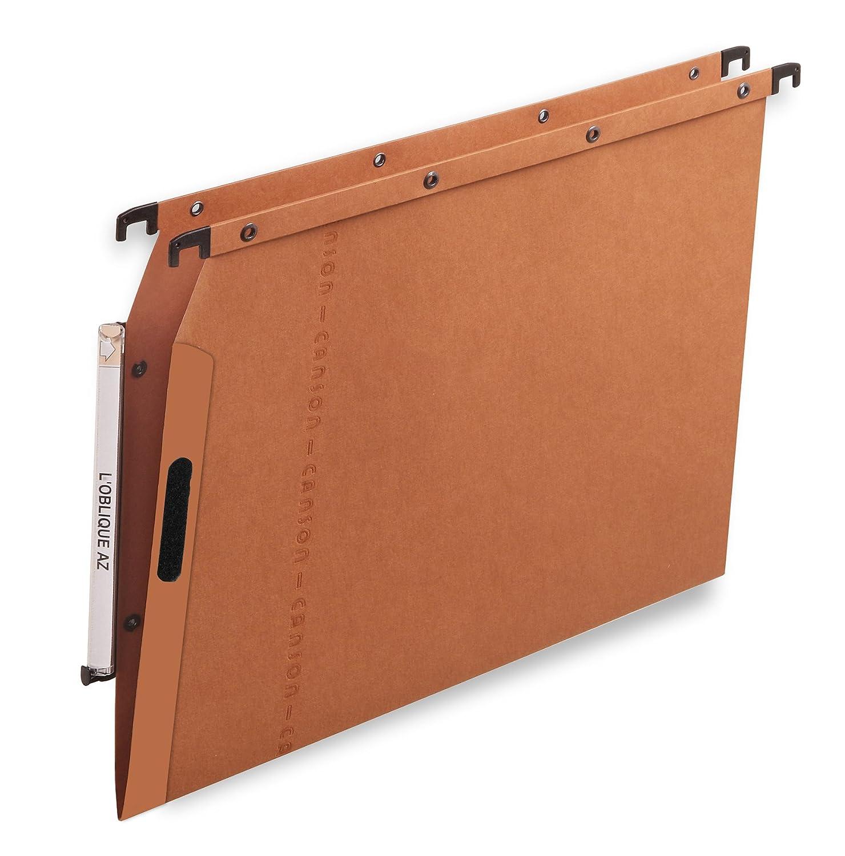 l'oblique - l'oblique Dossiers suspendus VELCRO pour armoire, fond 30 mm L' oblique A-Z