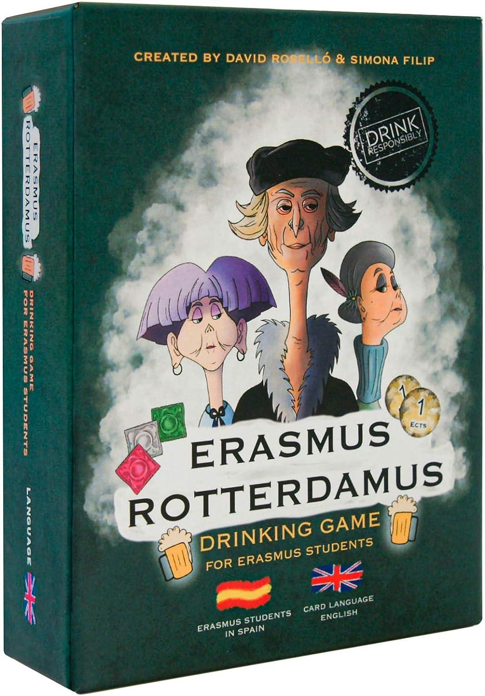 Erasmus Rotterdamus - Drinking Game for Erasmus Students - para Fiestas - Juego para Beber - Juegos de Beber