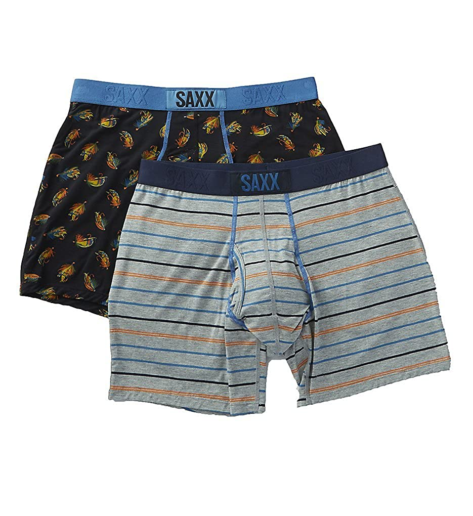 Gone Fishing Large Saxx Ultra Boxers 2 Pack