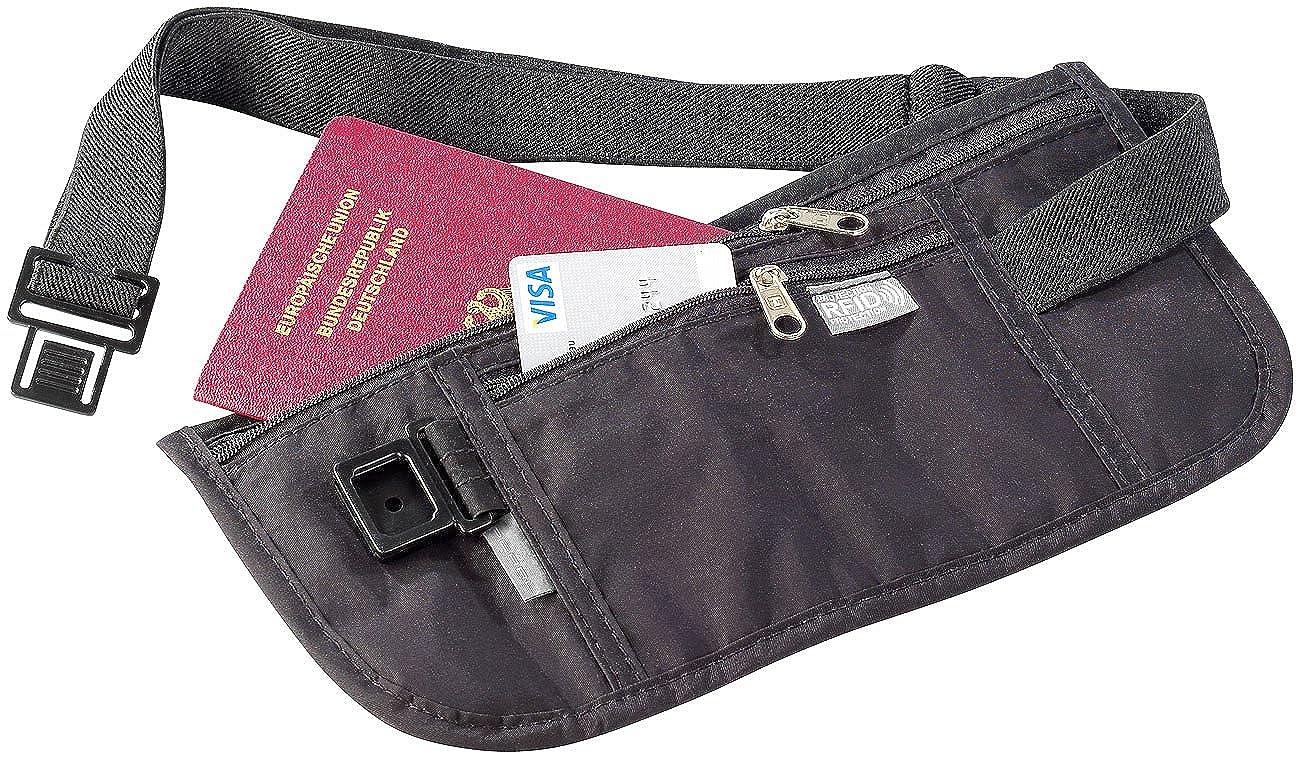 Semptec Urban Survival Technology Gürteltasche: Enganliegende Urlaubs- & Reise Bauchtasche mit RFID-Blocker (Diebstahlsichere Bauchtasche) NC-8907