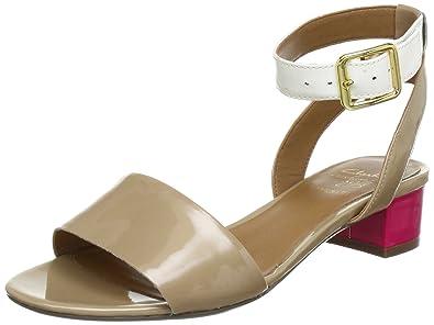 58edb7843710da Clarks Sharna Balcony Ankle Womens Brown Braun (Natural Combi) Size  6.5 (40