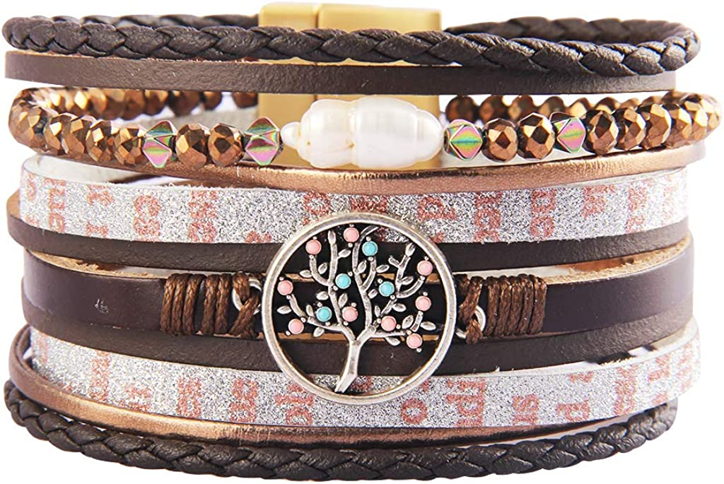 Jenia Tree Of Life Leather...
