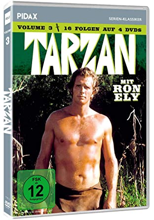 Tarzan, Vol. 3 / Weitere 16 Folgen der Kultserie mit Ron Ely ...