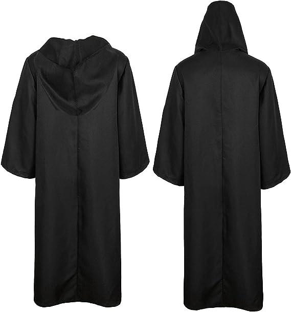 Amazon.com: Golden service - Túnica con capucha para disfraz ...