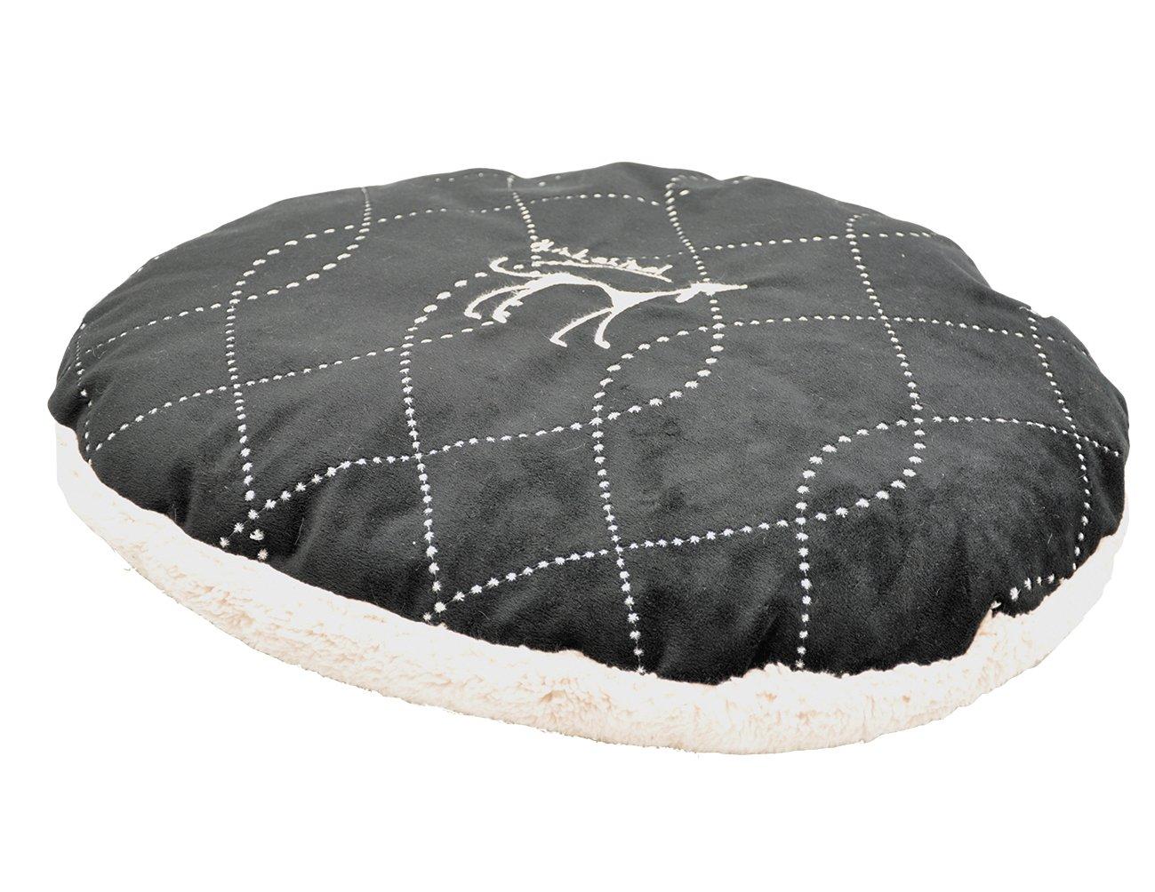 VADIGRAN Coussin Déhoussable Ceno Noir 100X75 cm