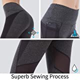 Picotee Women's Yoga Pants Workout Capri Leggings