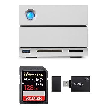 Amazon.com: LaCie 2big Dock Thunderbolt 3 8TB Hard Drive + ...