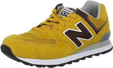 new balance femme 574 jaune