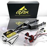 Apex 9006 / HB4 ( 10k 10000k Deep Blue / Dark Blue ) Xenon Hid Conversion Kit with Slim Ignitor Digital Ballasts Hids lights kits - 2 Year Warranty
