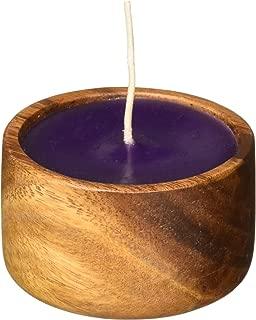 product image for Island Soap & Candle Works Monkeypod Coconut Bowl Candle, Pikake Jasmine