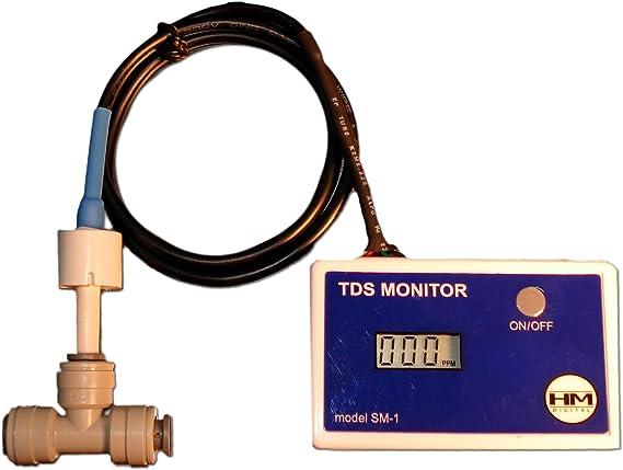 Hm Digitale Hm Digital Sm 1 In Line Tds Monitor F R Einzel Water Line Küche Haushalt