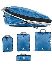 Outdoor Panda Lot de cubes de compression ultra légers pour sac à dos et valise, compression hydrofuge, organiseur de bagages et sac à vêtements