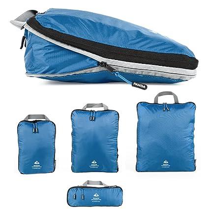 Bolsas de compresión Outdoor Panda, muy ligeras, cubos de embalaje para mochila y maleta, impermeable, sirve como organizador de equipaje, bolsa para ...