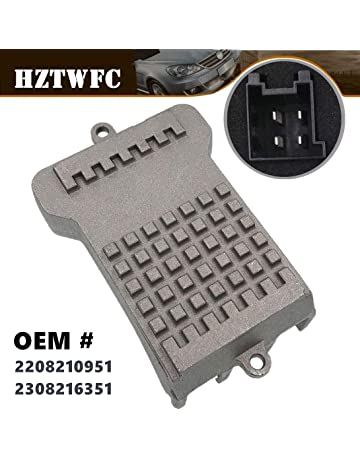 HZTWFC 4pins Blower Motor Resistor Regulator Compatible for Mercrdes-Benz W203 S203 W211 S211 2208210951