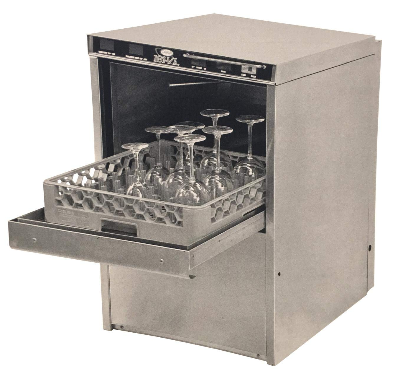 High Temp Undercounter Dishwasher with Heat Recovery