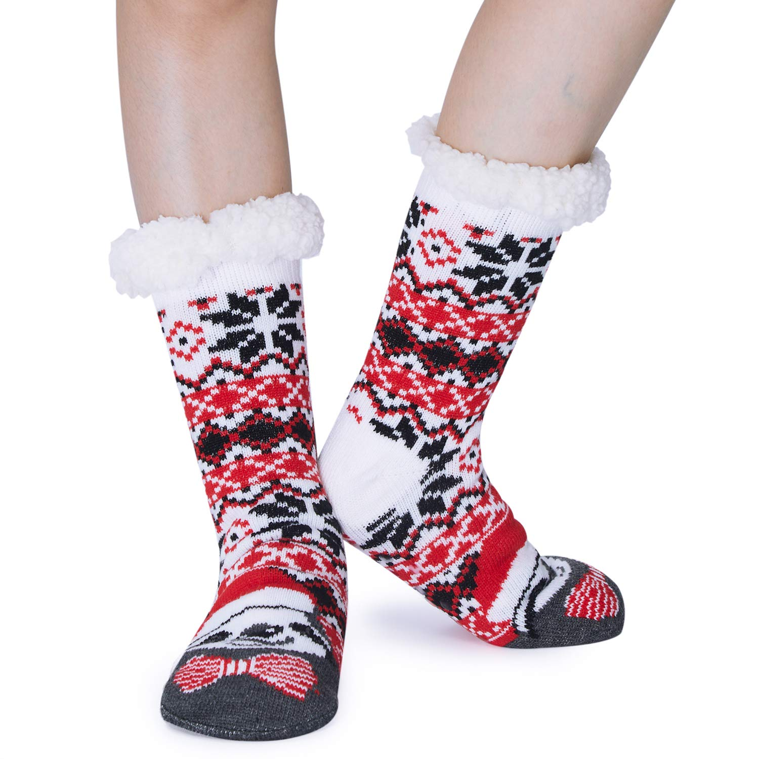 Spreadhoodie slipper socks