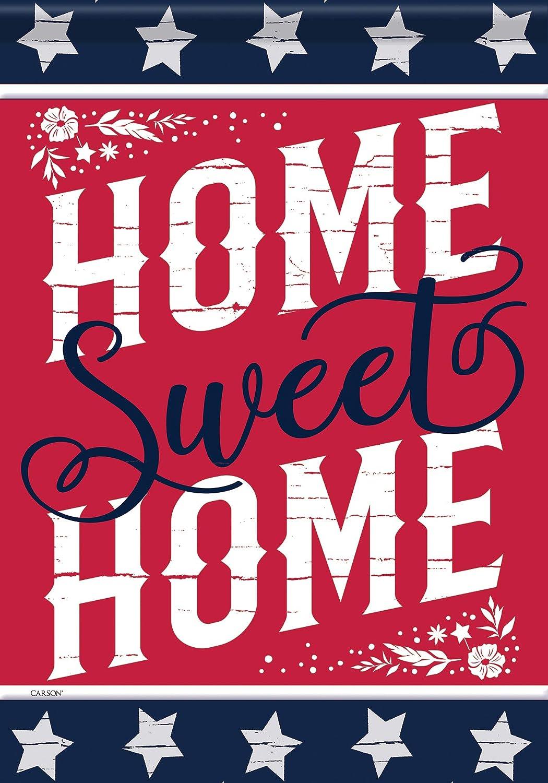 Carson Home Accents 49627 Classic Garden Flag, Multicolored