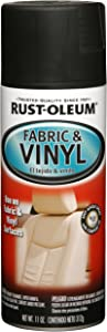 Rust-Oleum, Flat Black 248919 Automotive Fabric & Vinyl Spray Paint, 11-Ounce