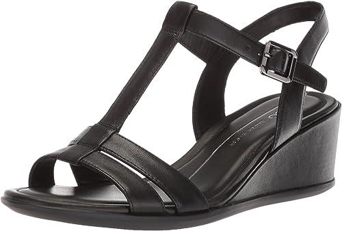 ECCO Women's Shape 35 Wedge T Strap Sandal