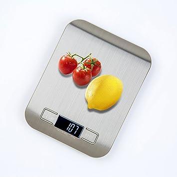 Varanda profesional digital de cocina escala, 5000 g escala electrónica de cocina de alimentos con