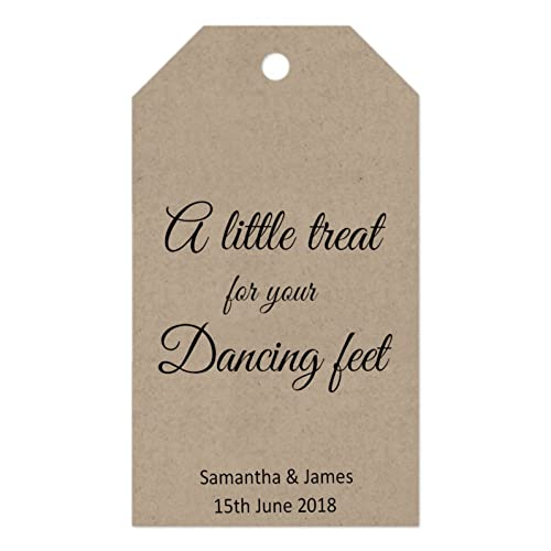 587e5bc7cf496e Image Unavailable. Image not available for. Colour  Gift Tags -  A little  treat for your dancing feet  ...