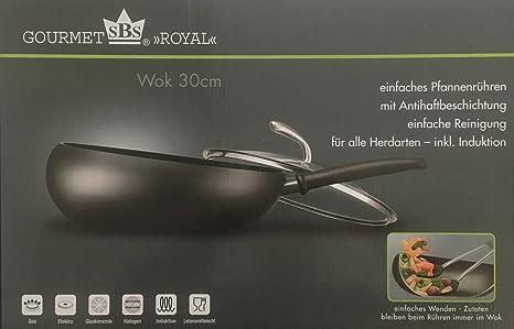 Wok, Boomerang Wok, Gourmet SBS Royal: Amazon.es: Hogar