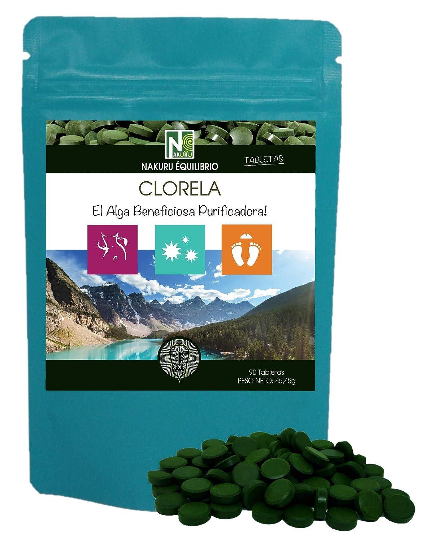 Clorela / 90 comprimidos de 505mg / NAKURU Equilibrio/Analizado y ...