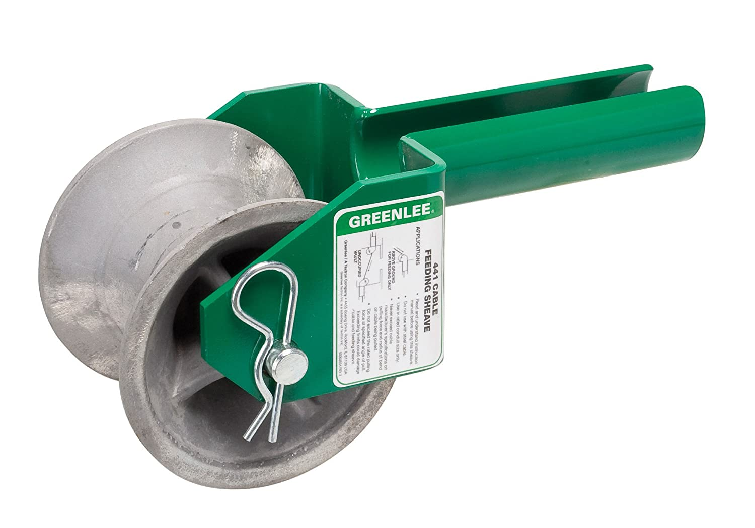 Greenlee 441-4 Feeding Sheave for 4-Inch Conduit - Hand Tool ...