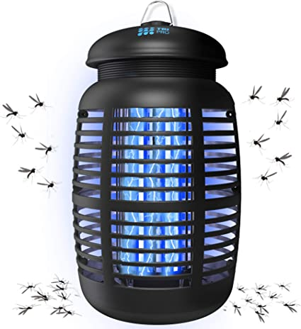 2-Pack - Mini Plug-in Mosquito Killer Lamps UV LED Light - Electric Mosquito, Fly, Bug, Insect Trap Killer Zapper Night Lights Blue One Stop Outdoor