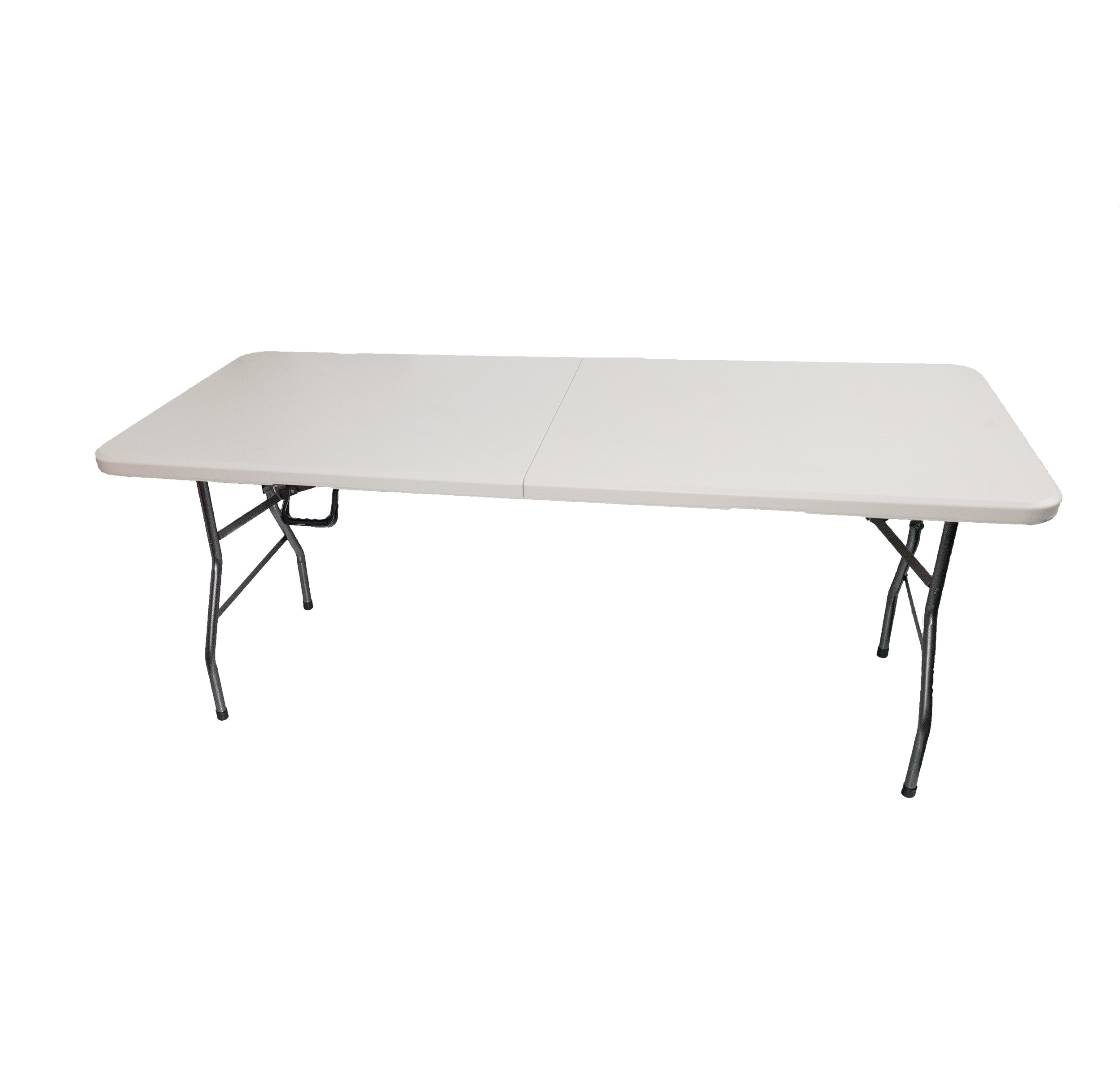 Source One Premium Folding Table Portable 6 Foot Long Light Weight Top Professional Quality