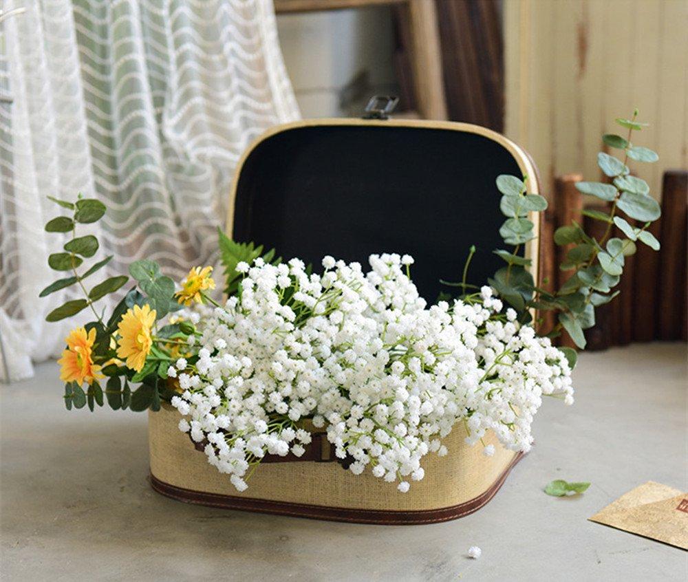 Amazon 10pc Artificial Baby Breath Gypsophila Flower Wedding