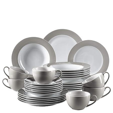 Mäser Kitchen Time Series 30 Piece Combi Set Porcelain Crockery