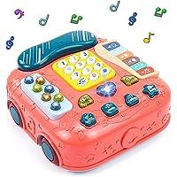 Juguetes Bebe Montessori Teléfono Juguete Musical - 5 en 1 Instrumentos Musicales Infantiles Interactivos Multifuncional…