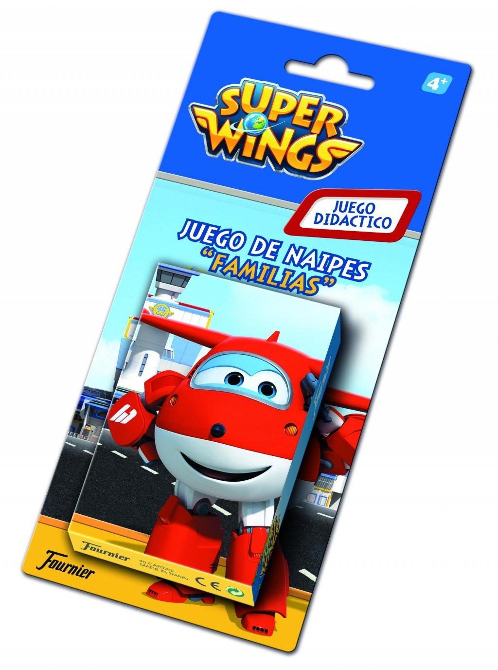 Super Wings- Cartas Fournier, (1034795): Amazon.es: Juguetes ...