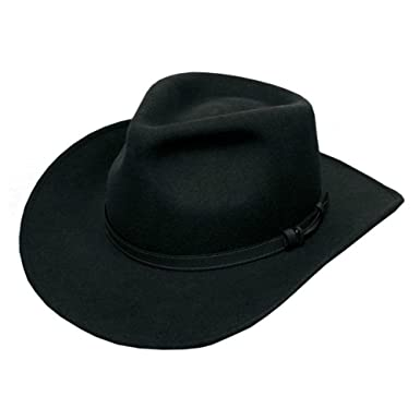 2a05f5168 Mens Waterproof Wool Trilby Cowboy Rodeo Felt Fedora Hat