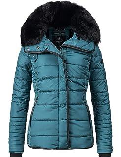 551f04767fee0 Marikoo Laureen Chaqueta Guateada de Invierno para Mujer 5 Colores XS-XL