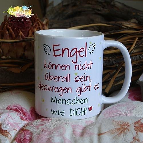 Kaffeebecher Tasse Engel Können Nicht überall Sein