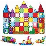 Children Hub 120pcs Magnetic Tiles Set - Educational 3D Magnet Building Blocks - Building Construction Toys for Kids - Upgrad