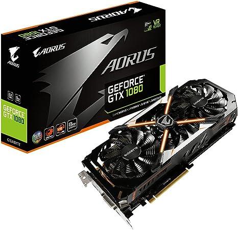 Amazon.com: Gigabyte Aorus GeForce GTX 1080 8 G tarjeta ...