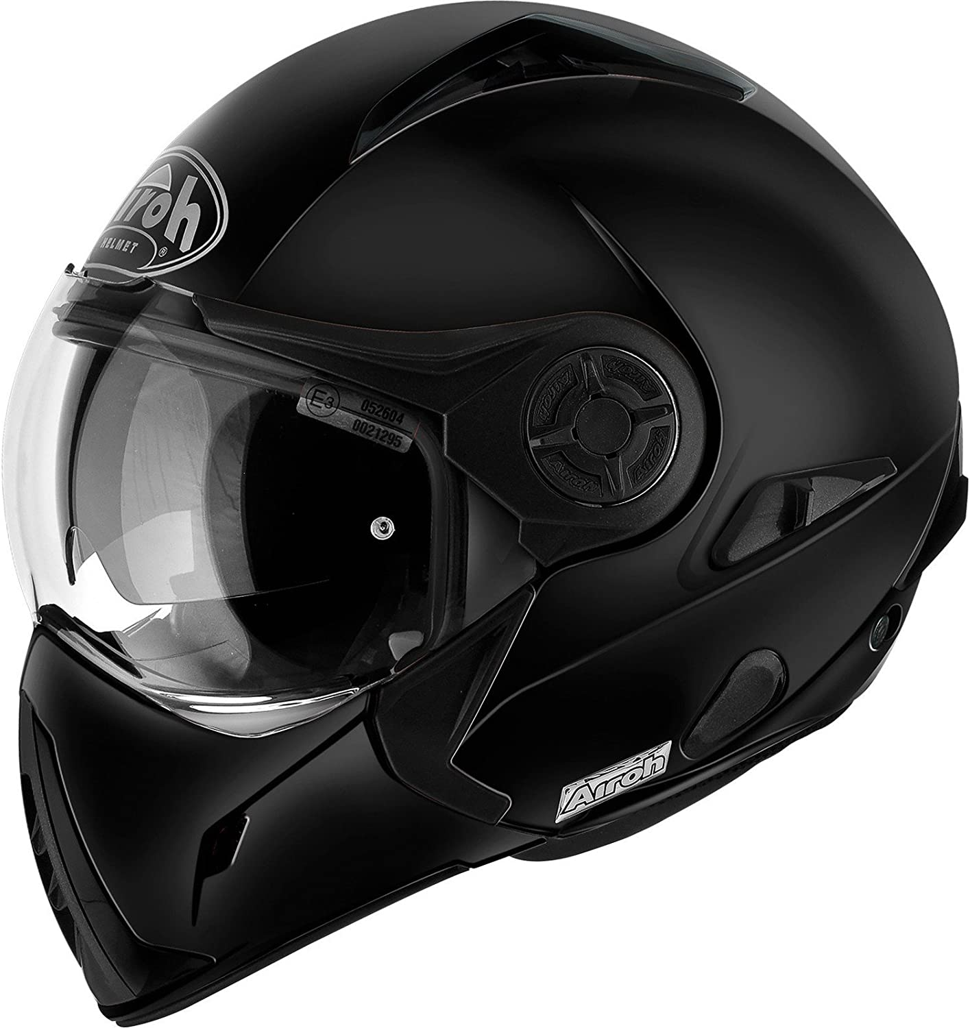 Airoh Moto Casco J106, color Negro mate, talla 56-S