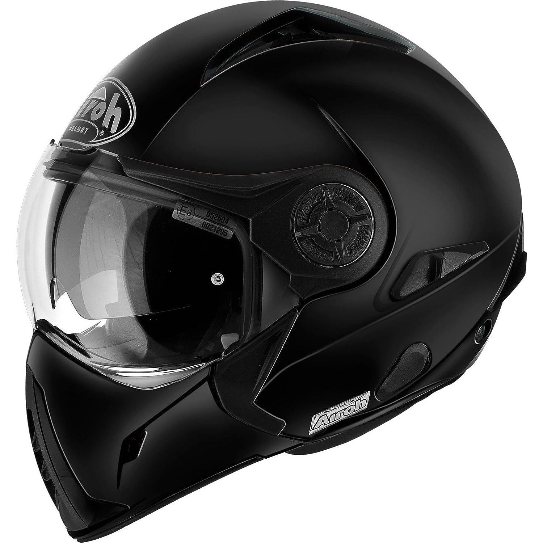 Schwarz Matt 54 Airoh Motorrad Helm J106