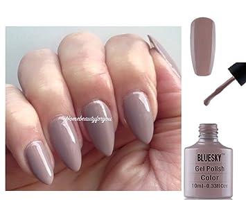 Bluesky 80594 Field Fox Flora and Fauna Nude Natural Beige Nail Gel Polish UV LED Soak