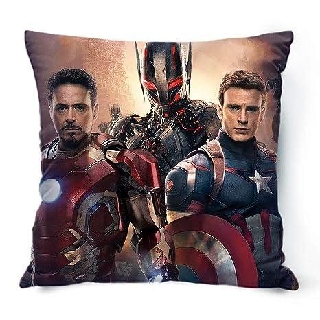 MIAOLIDP Cojín Cojín Capitán América Spider-Man Black Widow ...