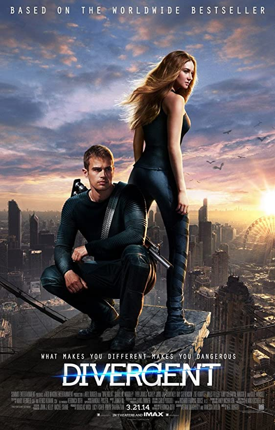 F-848 24X36Inch Art The Divergent Movie Fabric Poster  Silk Canvas Print picture