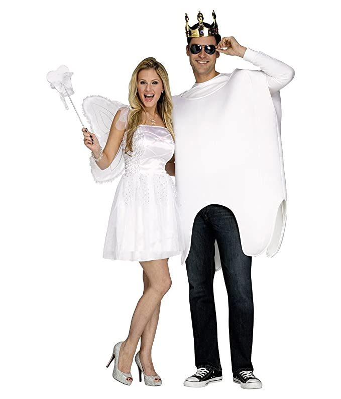 amazoncom tooth fairy and tooth costume one size dress size 414 clothing